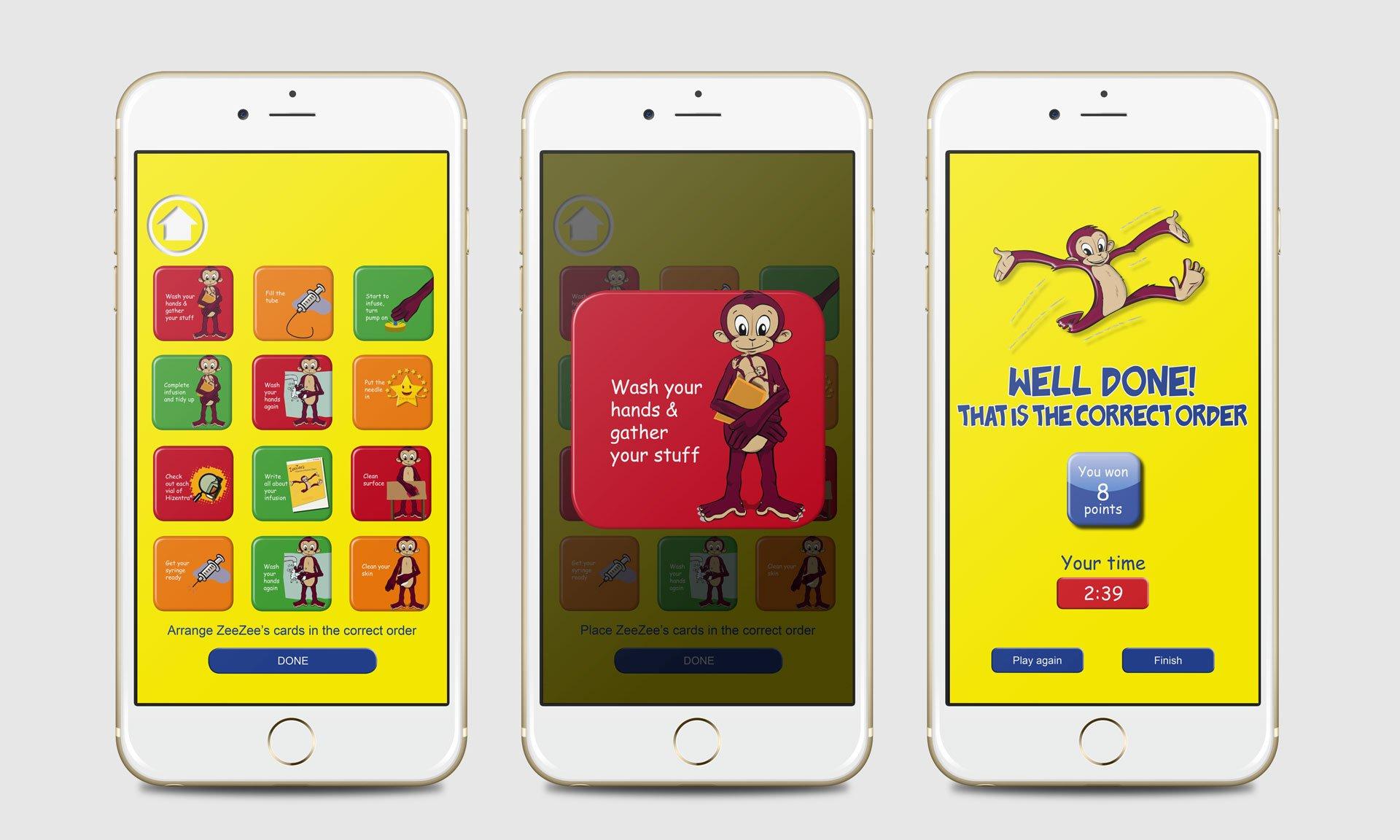Zeezee App - Paediatric Education App | Our Work | Hanson